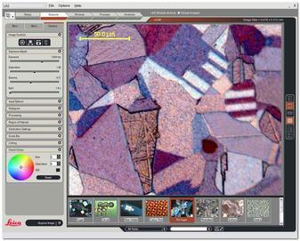 Software para Microscopio Leica Microsystems