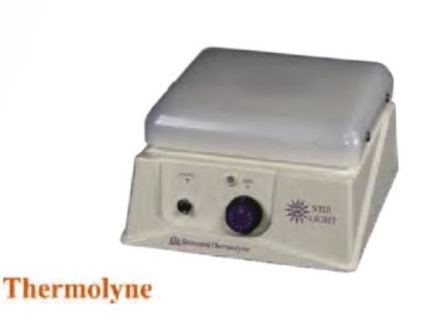 Agitador magnético con base iluminada